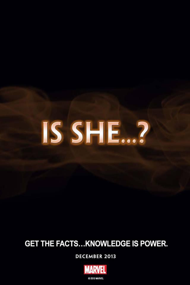 Tercer teaser de Marvel... Is She?
