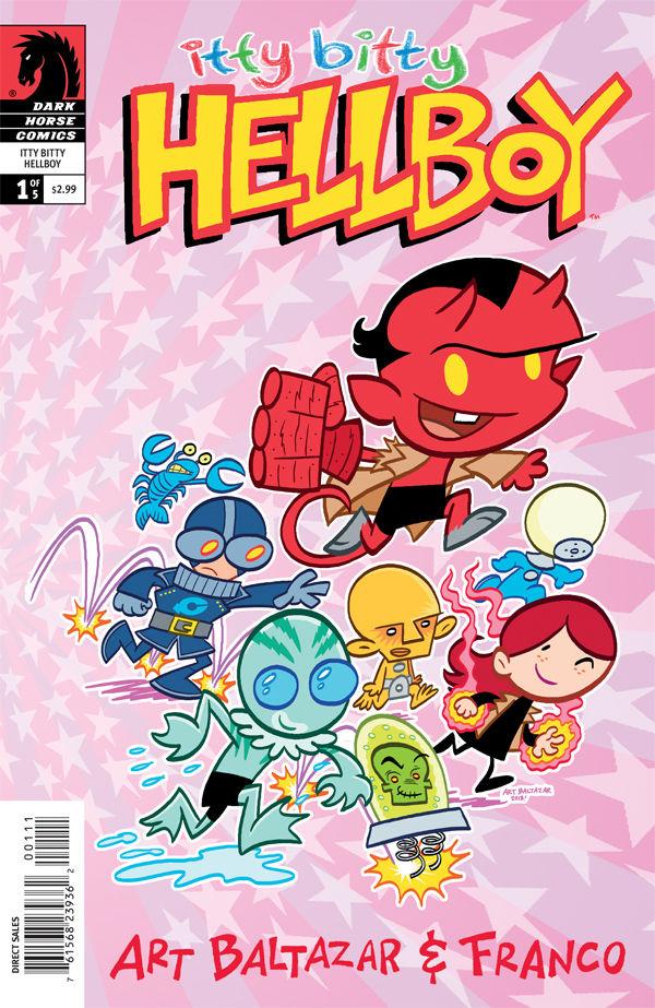 Portada de Itty Bitty Hellboy número 1