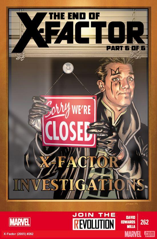 Portada del último número de Factor-X