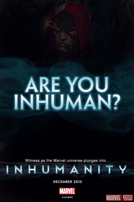 Teaser final. Are You Inhuman?