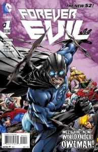 Forever Evil 1, portada de Owlman