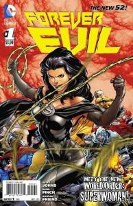 Forever Evil 1, portada de Superwoman