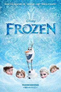 """Póster de"""" Frozen: El reino del hielo"""""""