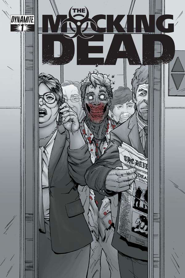 Portada del número 1 de The Mocking Dead