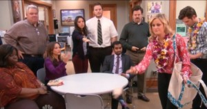 "Escena de ""Parks and Recreation"""