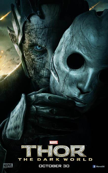 Malekith en el nuevo póster de Thor: el Mundo Oscuro