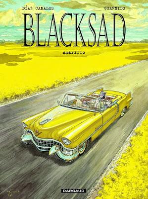 Portada de Blacksad: Amarillo