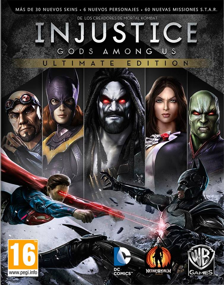 Injustice: God Among Us PS3