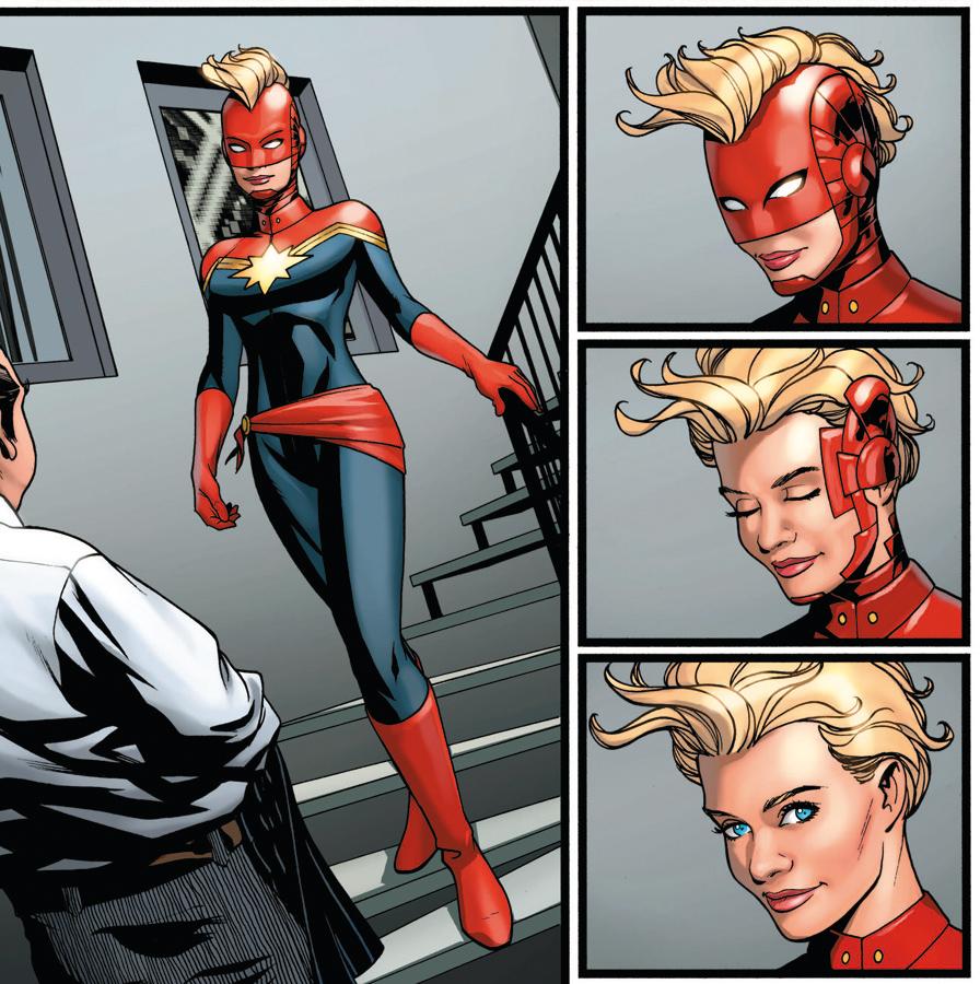 La Capitana Marvel nos recuerda que esto no es la película.