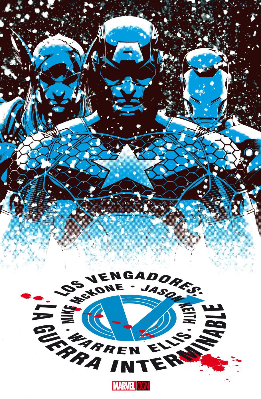 Portada de la novela gráfica Los Vengadores: La Guerra Interminable