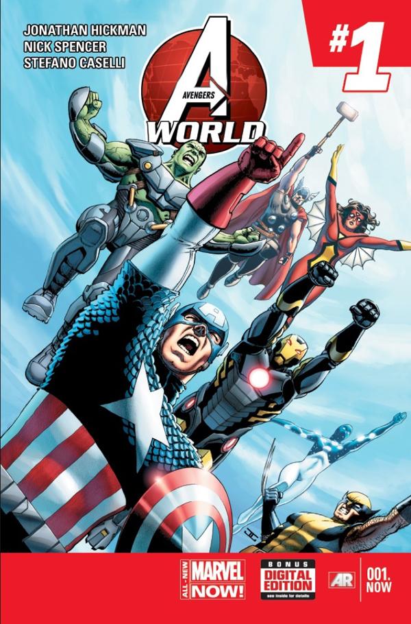 Portada del Avengers World 1. ¿Pero que han hecho con Hulk?