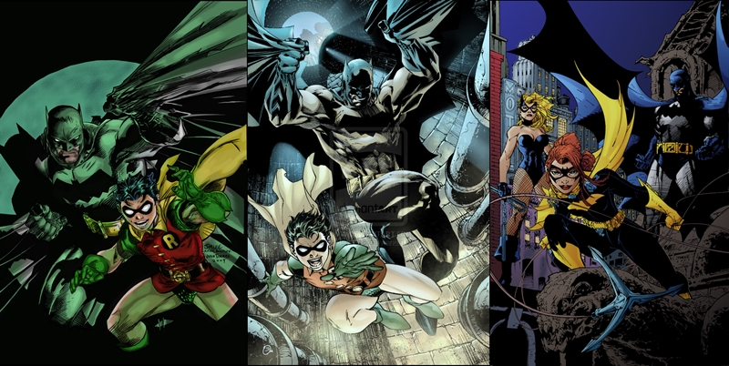 Portadas de All Star Batman y Robin, el Chico Maravilla