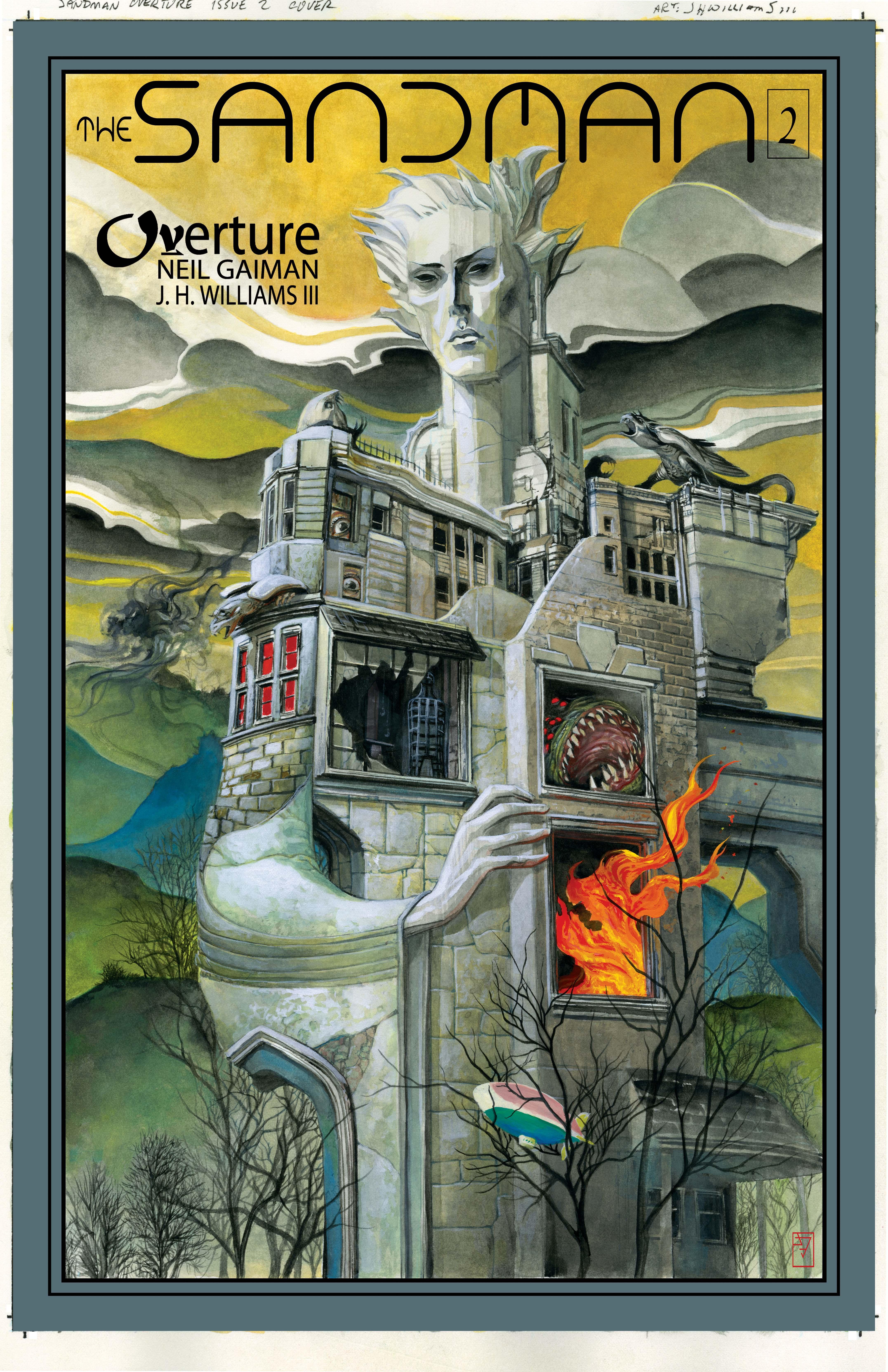 The Sandman Overture, portada del número 2.