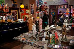 Tienda de cómics de The Big Bang Theory 7x13
