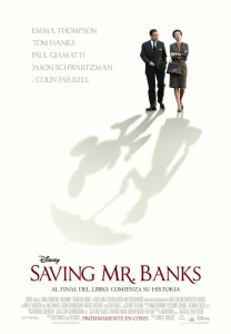 Al encuentro de Mr. Banks: Póster