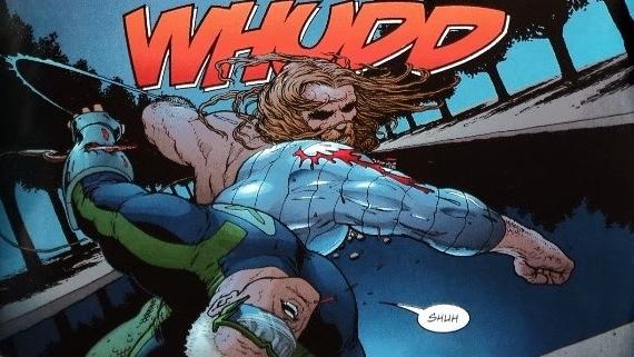 Los miembros de la JLA que se quedan en Tierra 2 no están del todo indefensos!