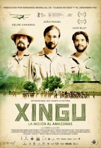 Xingu: La misión al Amazonas - Póster