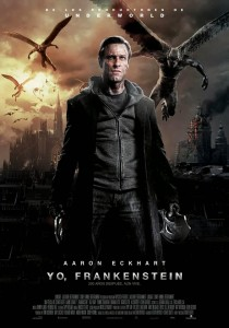 Póster en español de Yo, Frankenstein