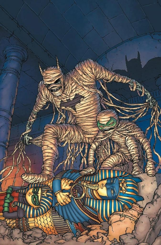 Batman and Robin, por Chris Burham