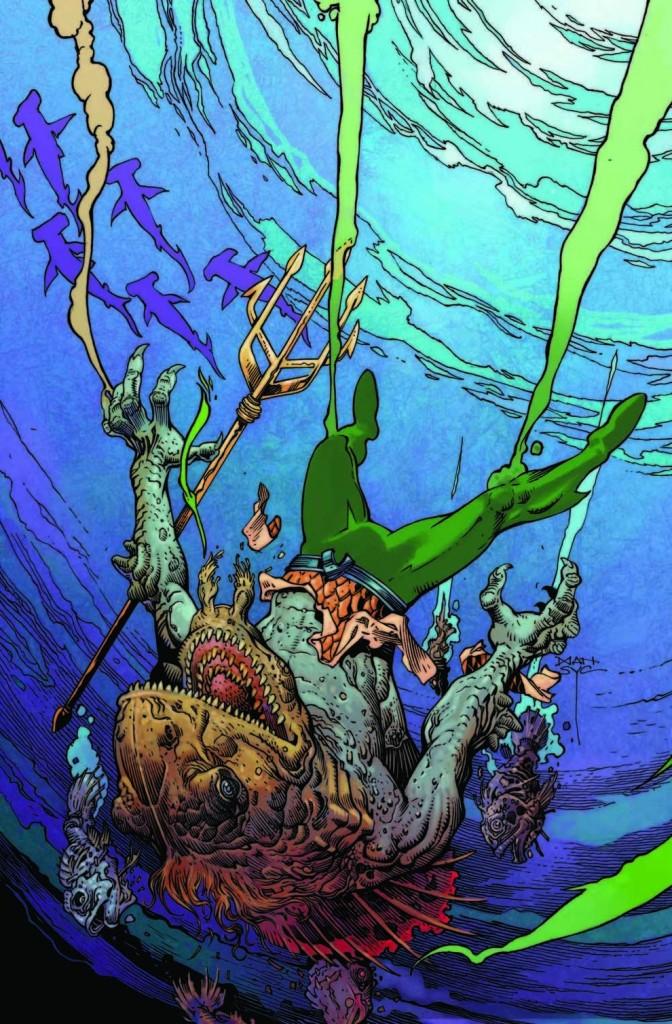 Aquaman, por Mark Nelson