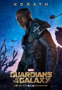 Korath (Djimon Hounsou) en Guardianes de la Galaxia