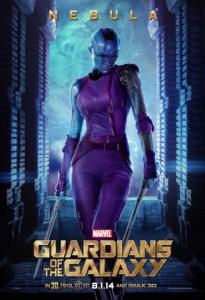 Nebula (Karen Gillan) en Guardianes de la Galaxia