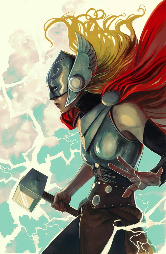 Portada de Thor#7, de Stephanie Hans