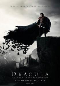 Póster de Drácula: La leyenda jamás contada