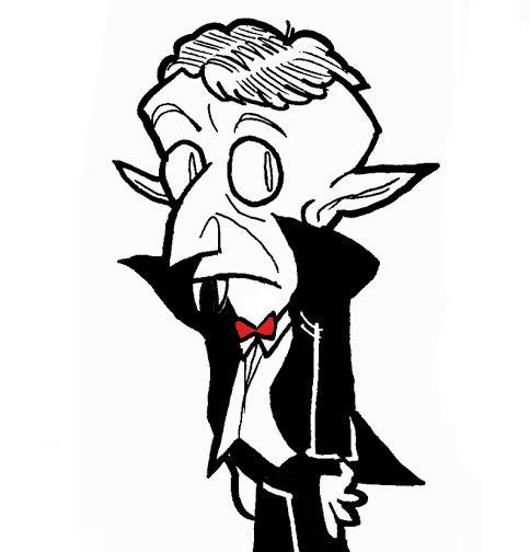 Nosfer  El Conde Nosfer es el último superviviente de la legendaria casa de los Drakul. Hace siglos fue un gran galán y ninguna mujer se resistía a sus encantos, pero en la actualidad no se come un colín y es el único ser con más de 100 años que agradece que exista internet.