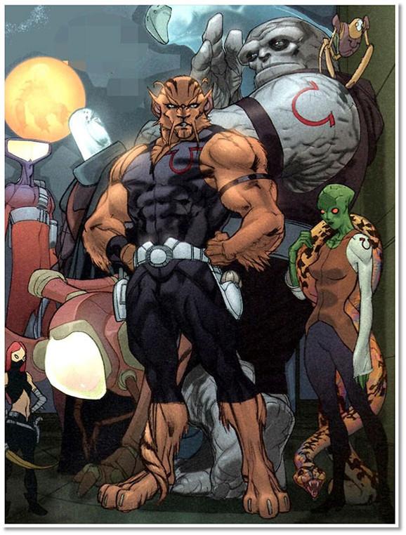 Portada de Omega Men#1