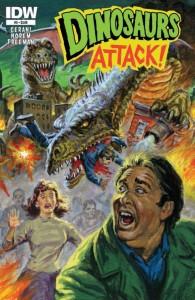 Los dinosaurios tendrán también su papel en esta trepidante novela