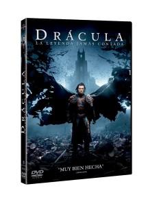 DVD de Drácula. La Leyenda Jamás Contada