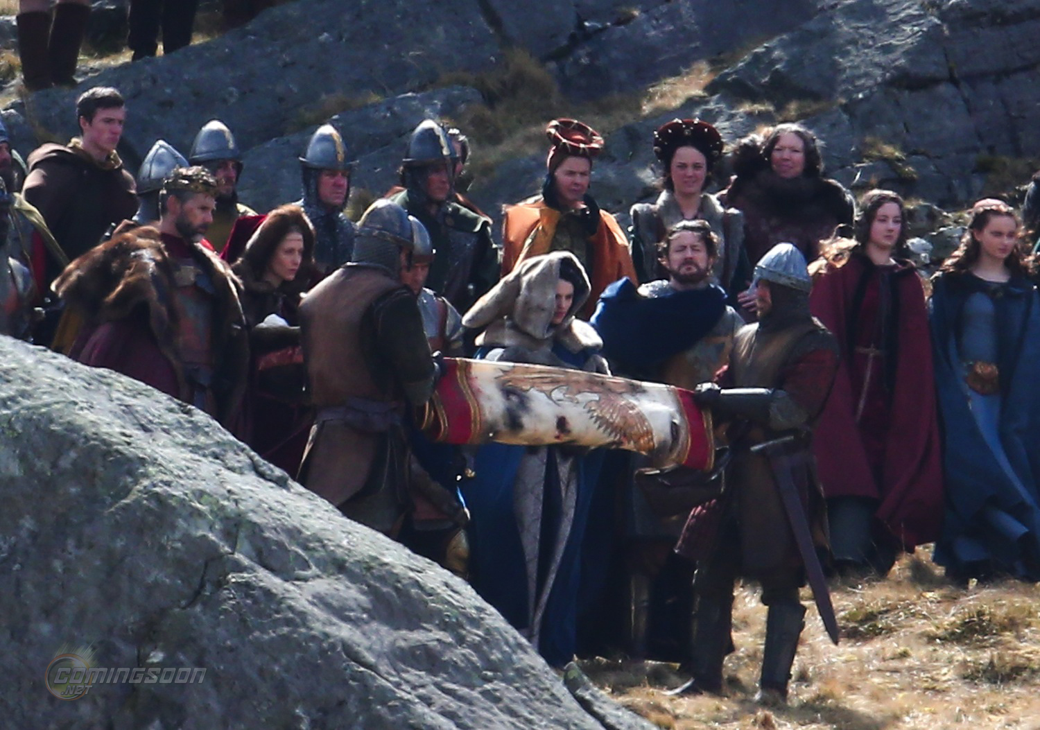 'Knights of the Roundtable: King Arthur' filming
