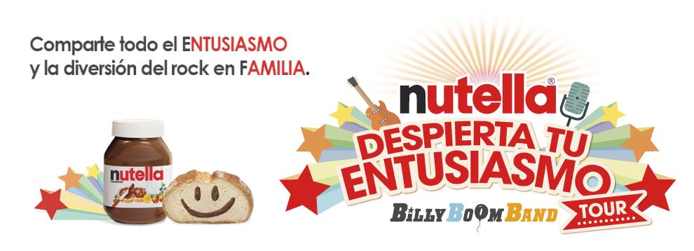 Nutella quiere hacer delicioso tu desayuno