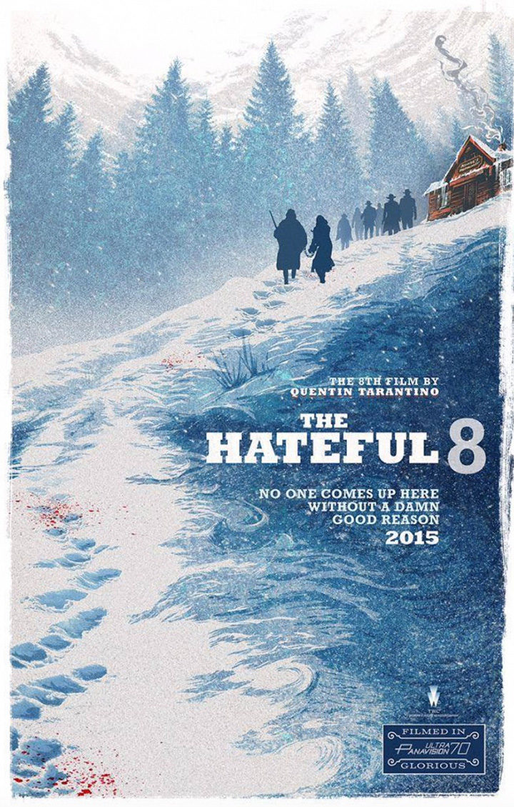 The Hateful Eight Póster