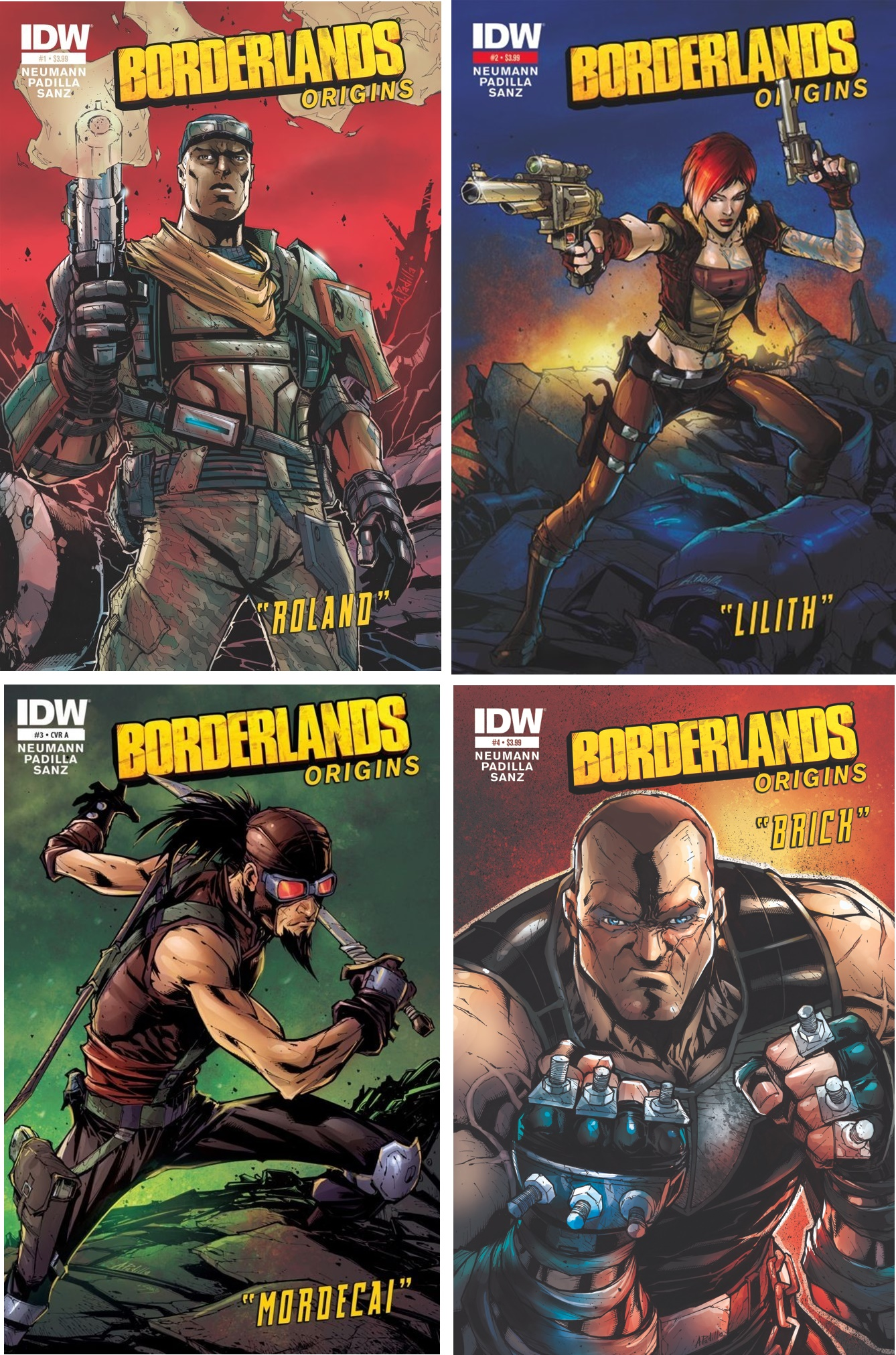 borderlands covers