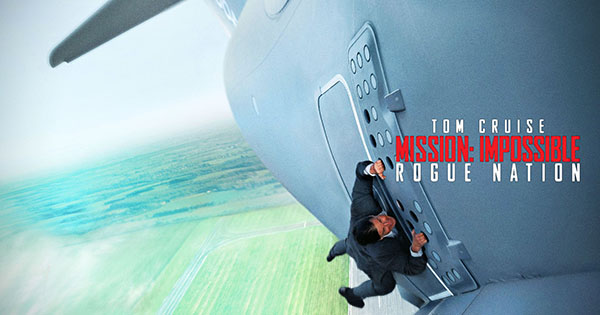 """Tom Cruise en  """"Misión Imposible – Nación secreta"""""""