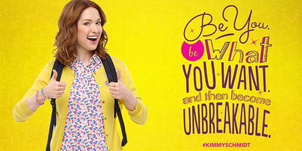 Imagen promocional de Unbreakable Kimmy Schmidt, de Netflix