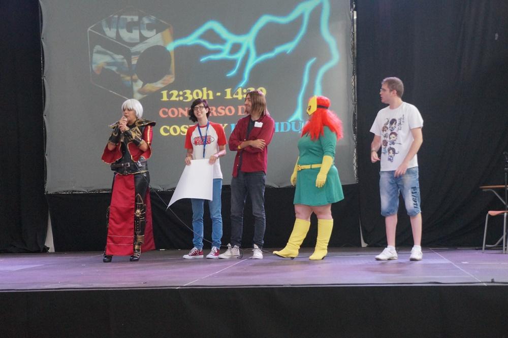 Ganadora del concurso Cosplayer Individual