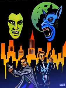 Vampiros y hombres-lobo en las calles de Nueva York