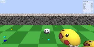 Ejemplo de Agario 3D