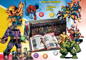 La Enciclopedia del Universo Marvel comienza su publicación por entregas