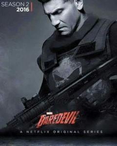 Póster de The Punisher en la temporada 2 de Daredevil