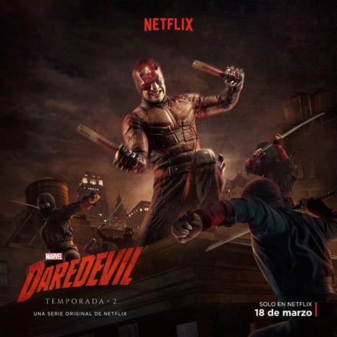 Daredevil: nuevo póster de la temporada 2