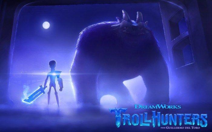 "Imagen de ""Trollhunters"", serie animada de Guillermo del Toro"