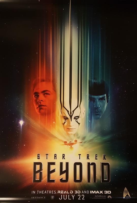"""Póster de """"Star Trek: Más allá"""""""