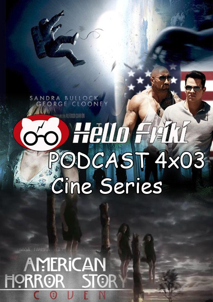 Hello Friki Podcast 4x03 - Cine y series