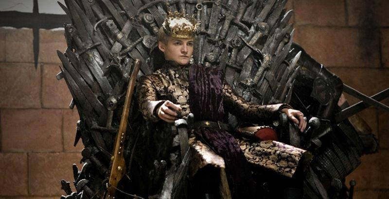 Jack Gleeson como Joffrey en Juego de Tronos