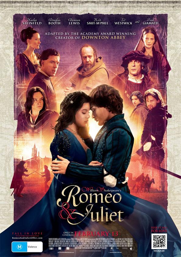 "Póster de ""Romeo y Julieta"""