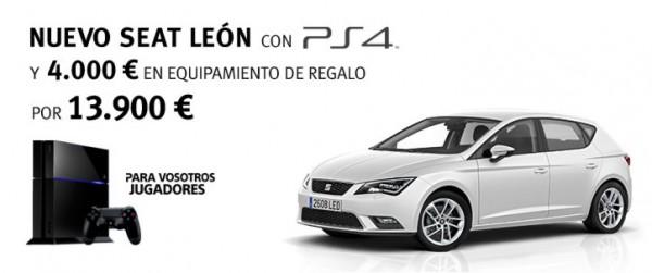 SEAT Leon y PlayStation 4
